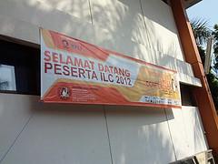Spanduk ILC 2012