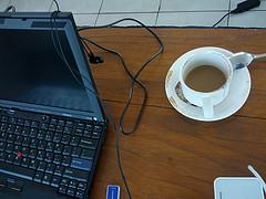 X200 and Coffee